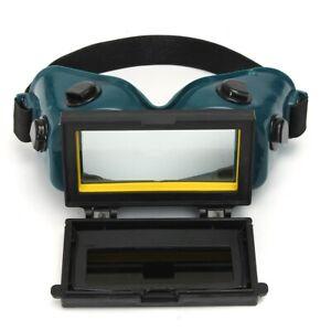 Saldatura-Maschera-Occhiali-Protezione-Casco-Oscuramento-Auto-Solare-Goggle