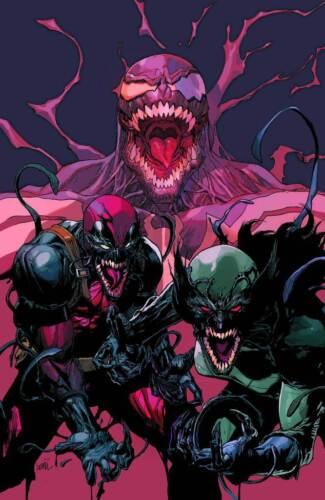 AMAZING SPIDER-MAN VENOM INC ALPHA #1 LEINIL YU VIRGIN VARIANT MARVEL COMICS