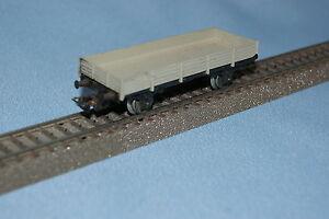PRIMEX-4596-DB-Flat-Car-Grey