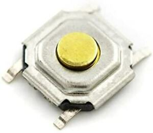 Mikrotaster push button,Mikroschalter,Microtaster,5x5x4,3 4pin,SMD Drucktaster