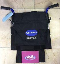 Wheeltech energi + PLUS carrozzelle elettriche COMPLETO pieghevole schienale in tela