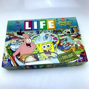 The-Game-of-Life-SpongeBob-SquarePants-2005-Nickelodeon-Complete-Game