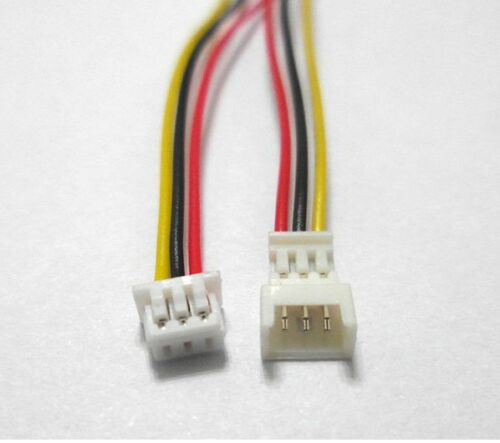US SHIP 20 Set Micro JST 1.25 3 Pin Male/&Female Connector plug with Wires Cable