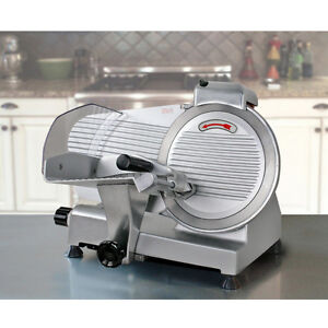 Commercial-Electric-Meat-Slicer-10-034-Blade-240w-530-rpm-Deli-Food-cutter