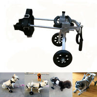 Wheels Cart Rear Handicapped Legs Support Scooter Wheelchair For Pets Dog Doggie