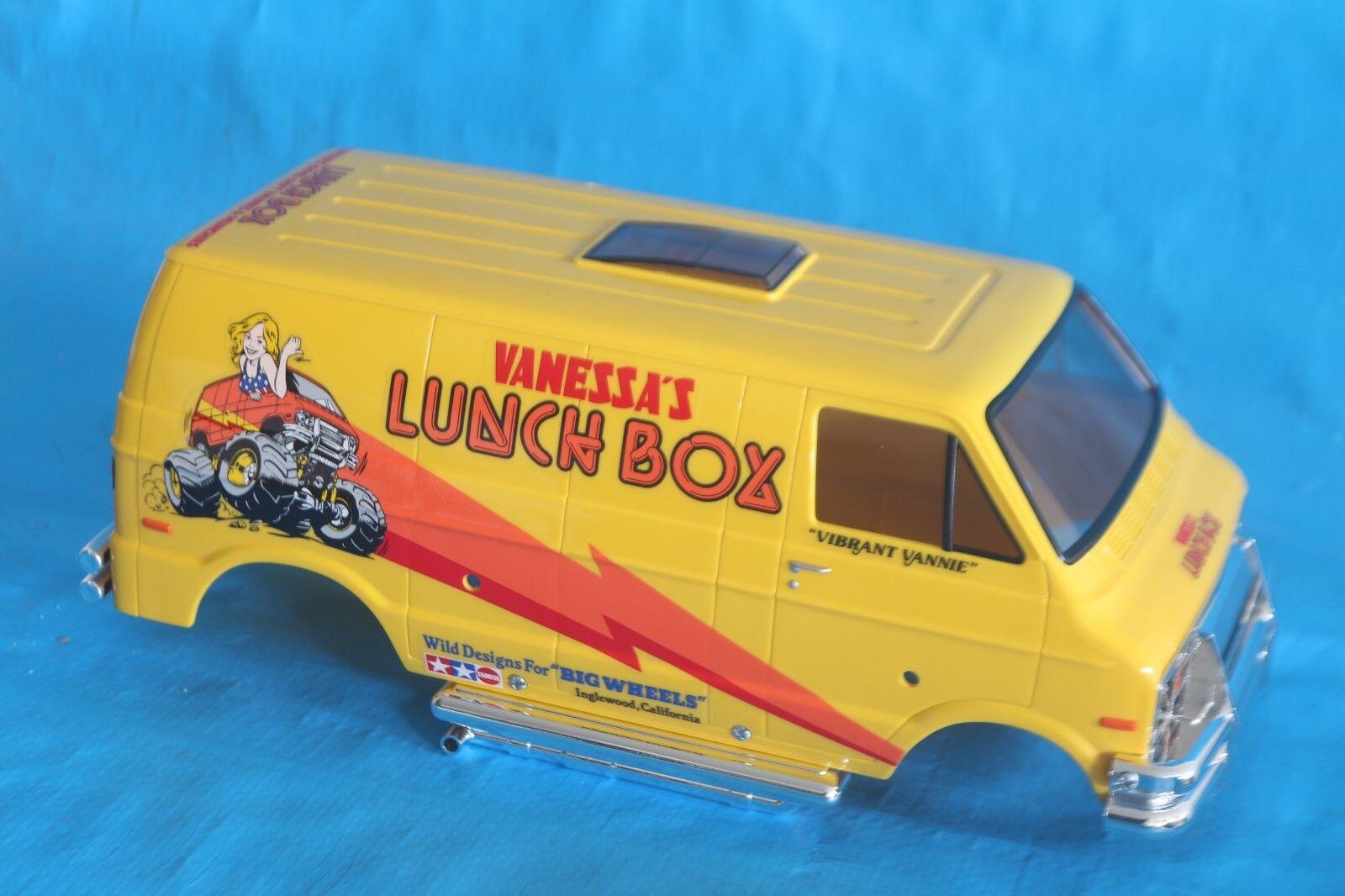 Brand New Tamiya Lunchbox Body XB Factory built 1 10 RC Vintage