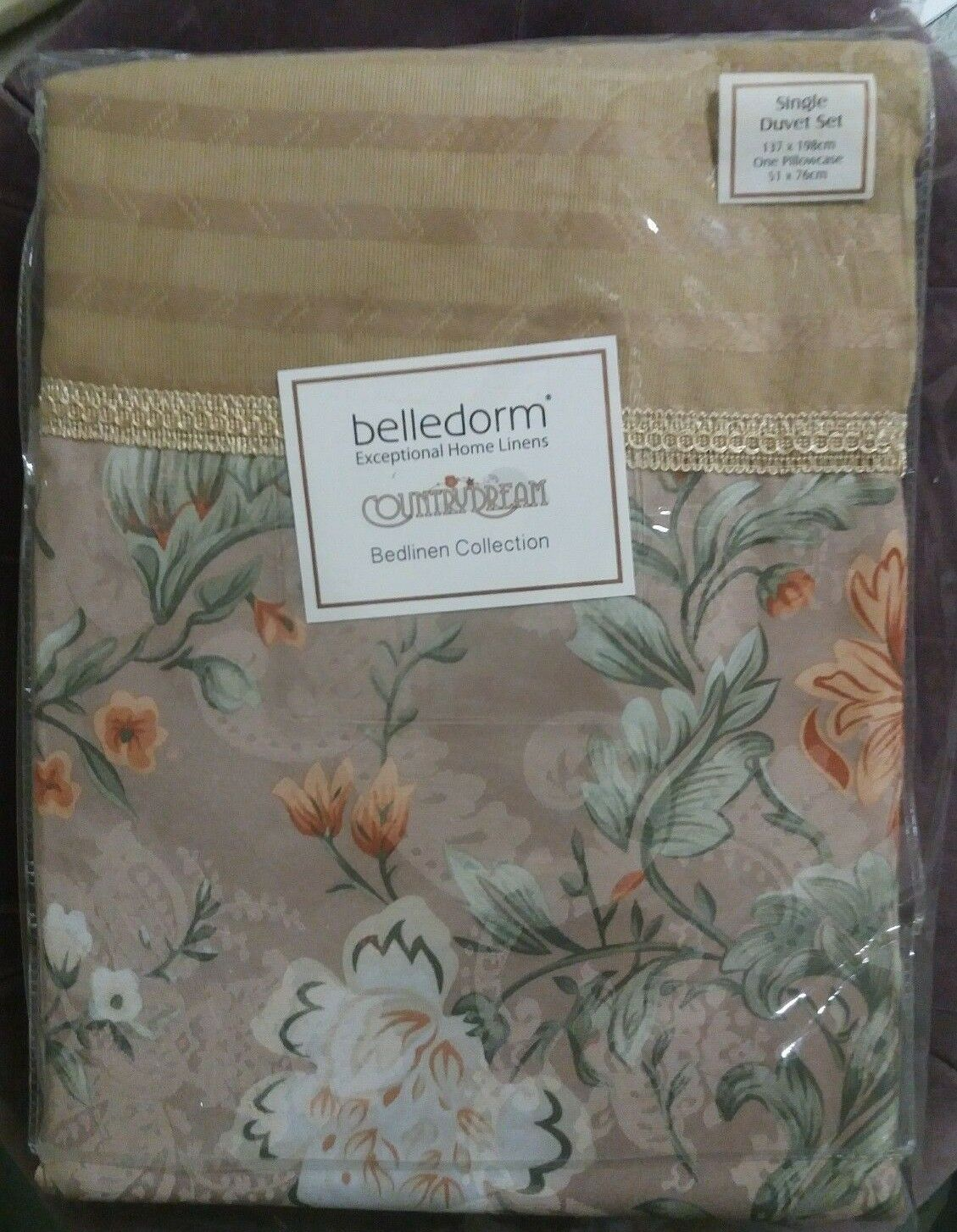 New Belledorm Isabelle Duvet Set Single