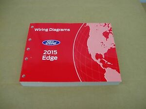 details about 2015 ford edge wiring diagram service shop dealer repair manual Whelen Edge 9000 Wiring Manual