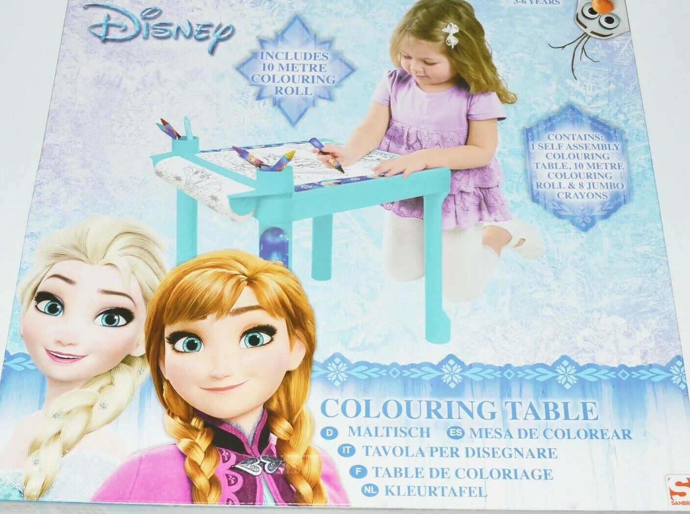 Disney Reise Kindermaltisch Kinder Maltisch Malset Malunterlage Malen 4 Motive