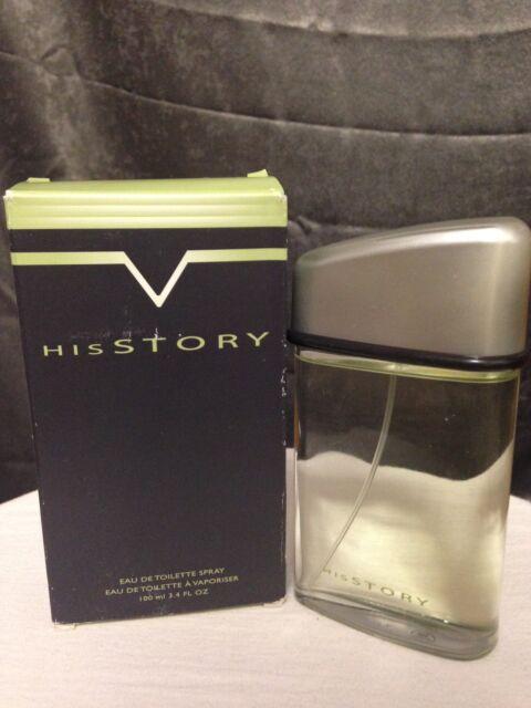 Avon HisStory Eau de Toilette Spray for Men 3.4 Fl Oz 100 ml NIB Discontinued