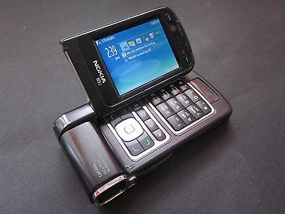 Nokia N Series N93 - Pearl Black (Unlocked) Smartphone