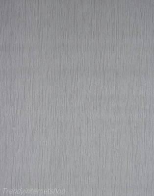 Erismann Tapete Vlies Vinyl Uni grau / edles Satin Design 5703-38