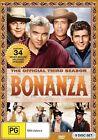 Bonanza : Season 3 (DVD, 2012, 9-Disc Set)