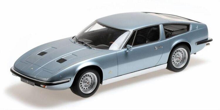 1970 Maserati Indy Voiture Modèle à l'échelle 1 18 par Minichamps