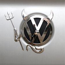 AUTO AUFKLEBER STICKER 3D Teufel VW Devil Demon Chrom Emblem BMW Skoda Opel