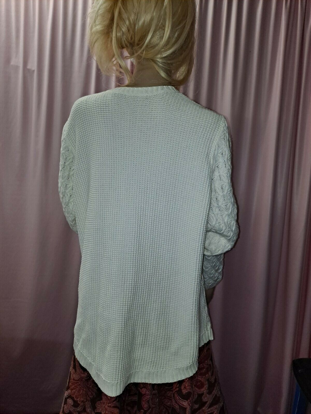 Women's Textured Knit Sweater Cable Knit Pullover… - image 8
