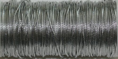 Benton /& Johnson Goldwork- SILVER Colored T69 T72 -couching threads T71 T70
