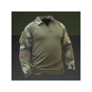 chemise-de-combat-ubas-centre-europe-felin-militaire-armee-parachutiste-t-S