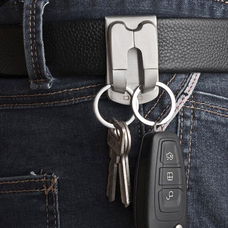 Belt Attachment Key Ring Keyring Keychain