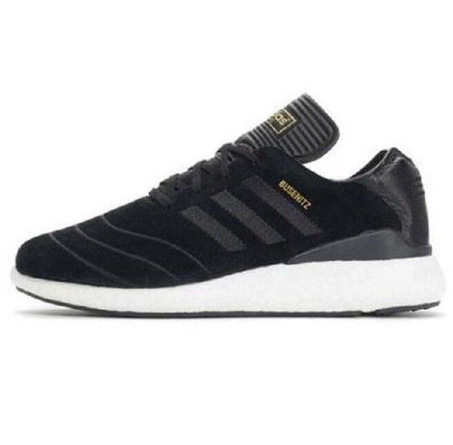 Adidas BUSENITZ PURE BOOST Black Skateboarding Discounted (344) Men's Shoes
