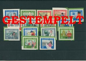 Germany-GDR-DDR-R-d-a-1964-Mi-1059-1073-B-Timbres-Used-Plus-Sh-Boutique