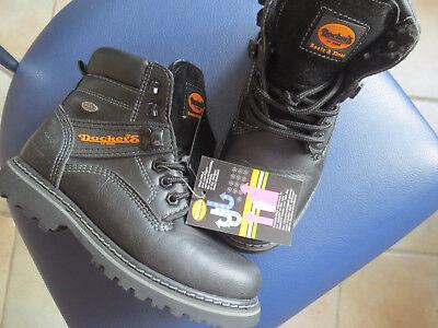 NEU! Dockers, Boots, Schuhe, Stiefel, gefüttert, Jungenschuhe, schwarz, Gr. 32