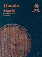 Lincoln Cents Folder 1, 1909-1940 Collector Coin Collection - - No Tax