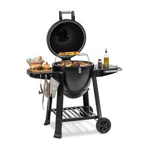 Griglia Kamado Barbecue Giardino Carne Bistecchiera Professional Ceramica Ibrido