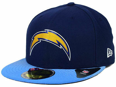 f2ec33bf Official 2015 NFL On Stage Draft San Diego Chargers New Era 59FIFTY Fitted  Hat | eBay