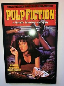 PULP-FICTION-QUENTIN-TARANTINO-1994-original-SCREENPLAY-HYPERION-TRADE-PAPER