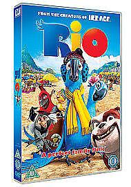 Rio (DVD, 2012) Brand new and sealed Anne Hathaway Jesse Eisenberg Kids