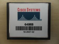 Cisco 64 MB CF Compact Flash Memory Card 2801 2811 2821 2851 3825 3845 2900 3900