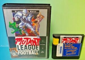 Mutant-League-Football-Game-Sega-Genesis-Box-Rare-Tested-Works-great