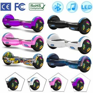 "Bluetooth 6.5/"" Skateboard Scooter Self Balancing /& hoverkart Gokart UK Plug"