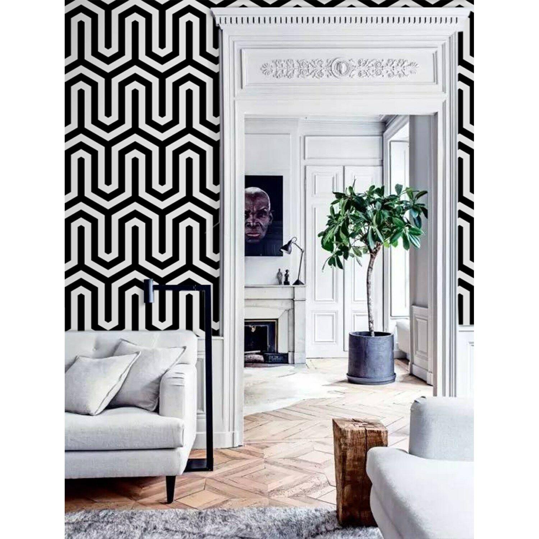 Geometric pattern Minimalist Wall mural Scandinavian Home  Non-Woven wallpaper