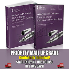 Analysis and Critique DVD New Sealed Great Courses Teaching Co