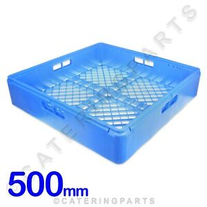 SQUARE OPEN GLASS RACK CUP BASKET 500mm X 500mm x 105mm GLASSWASHER DISHWASHER