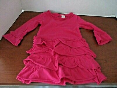 Osh Kosh~pink Tiered Long Sleeve Dress~toddler Girls 2t Clearance Price Dresses Girls' Clothing (newborn-5t)