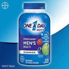 One A Day® VitaCraves Mens Multi, 230 Gummies Multivitamin