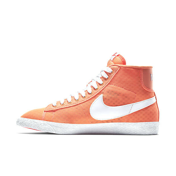 100% authentic shoes for cheap great look Nike Women's Blazer Mid Mesh Shoes Size 11 Sunset Glow White Hot Lava  579956 801