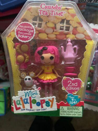 Lalaloopsy Crumbs Tea Time #2 Series 5 2nd Edition Mini Doll La Loopsy