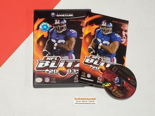 NFL Blitz 20-03 - Complete Nintendo GameCube Game