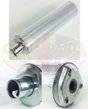 Silver Exhaust Silencer Silver 3 Bolt Fixing for Kinroad 50cc XT50-18