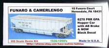 Funaro F&C 8270  PENNSYLVANIA  PRR  GPA Hopper Car  MOW Maintenance Way  1-PIECE