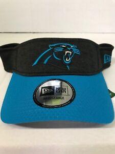 innovative design 665e7 22e0e Image is loading NFL-CAROLINA-PANTHERS-NEW-ERA-BLACK-BLUE-2018-