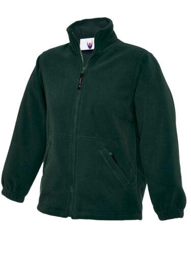 Childrens Full Zip Classique Veste en polaire pour l/'école /& Loisirs-Boys /& Girls 603