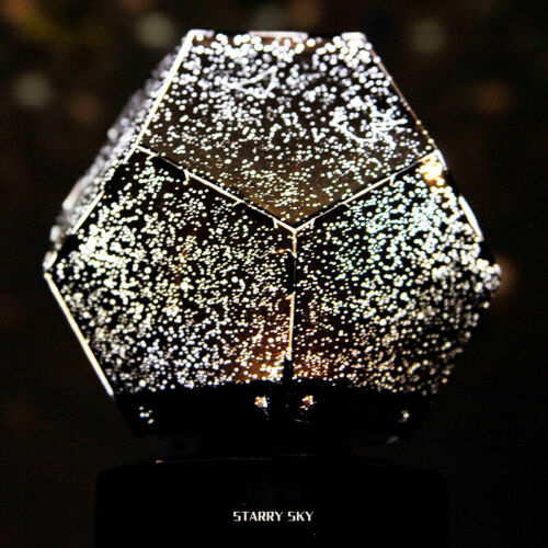 Romantic LED Starry Night Sky Projector Lamp Star Light Master Party Decor Gift