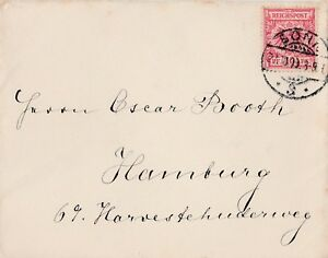 Briefumschlag-Jahr-1899-verschickt-von-Bonn-nach-Hamburg-wertvolle-Marke