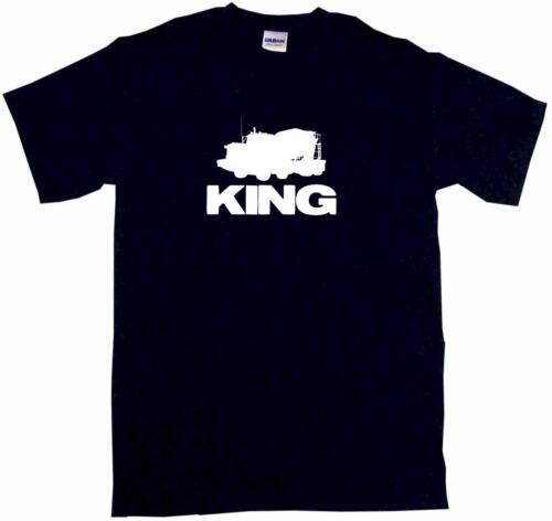 Cement Concrete Truck Logo King Kids Tee Shirt Boys Girls Unisex 2T-XL