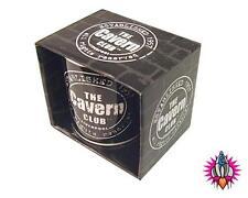 THE BEATLES CAVERN CLUB DISTRESSED BLACK MUG COFFEE CUP NEW IN GIFT BOX